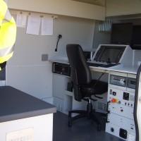Inside CCTV Van