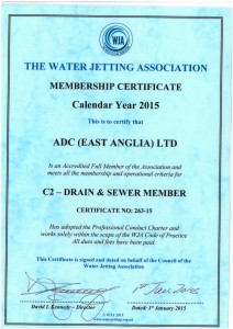 New Jetting Association Cert