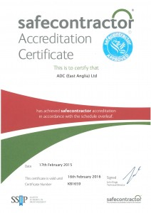 Safecontractor 2015 Cert